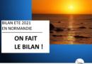 BILAN DE L'ETE 2021 EN NORMANDIE
